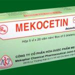 Thuốc mekocetin sử dụng trước hay sau bữa ăn hiệu quả