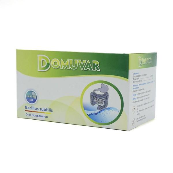 Bạn đã biết thông tin gì về thuốc Domuvar?