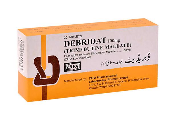 Khi dùng thuốc Debridat cần lưu ý đến những điểm nào?