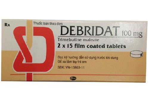 Bạn biết gì về thuốc Debridat?